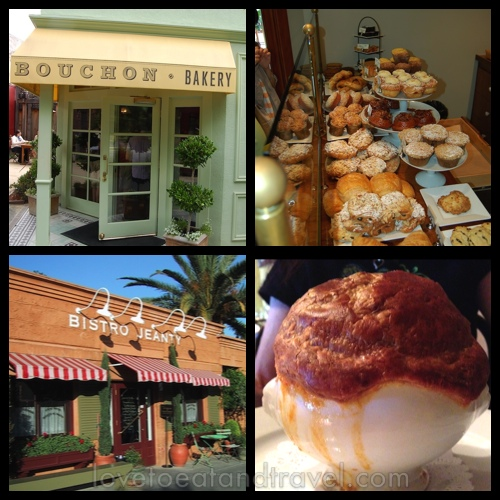 Bouchon Bakery and assorted pastries - Bistro Jeanty and Tomato Soup in Puff Pastry, Yountville, Napa Valley, CA - © LoveToEatAndTravel.com