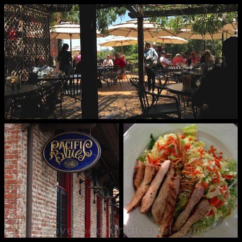 Pacific Blues Cafe in Yountville, Napa Valley, CA - © LoveToEatAndTravel.com