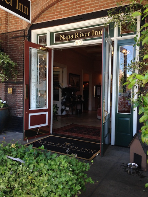 Napa River Inn at the historic Napa Mill - © LoveToEatAndTravel.com