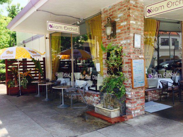 Siam Orchid Thai restaurant in Palo Alto, CA - © LoveToEatAndTravel.com