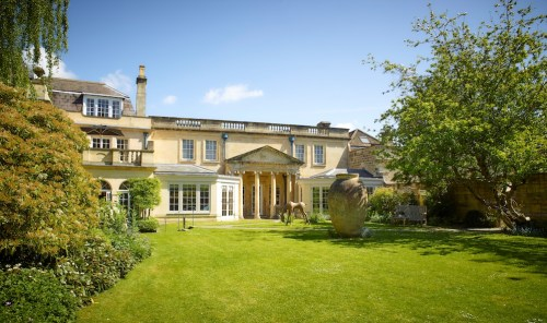 The Royal Crescent Hotel & Spa - Garden and Pavillion © The Royal Crescent Hotel & Spa