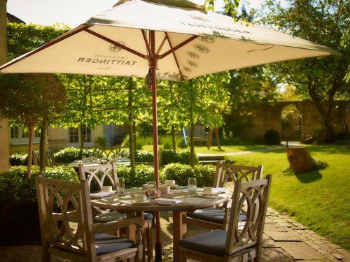 The Royal Crescent Hotel & Spa - Garden and Al Fresco Dining © The Royal Crescent Hotel & Spa