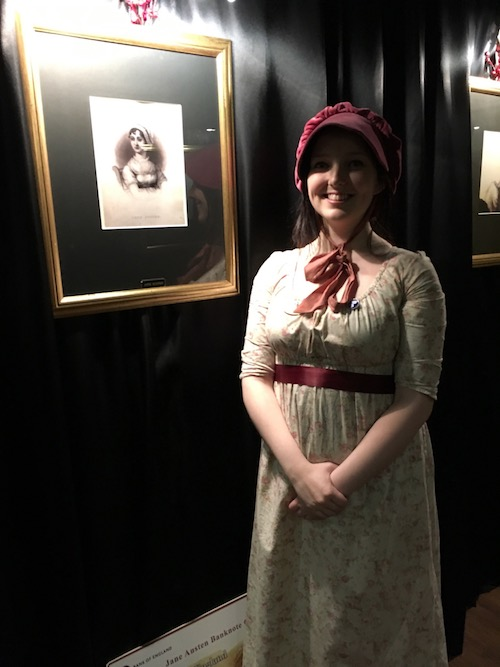 Tour Guide at Jane Austen Centre, Bath, UK - photo © Love to Eat and Travel