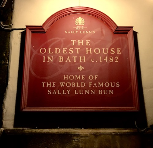 Sally Lunn - Oldest house in Bath, UK - photo © Love to Eat and Travel