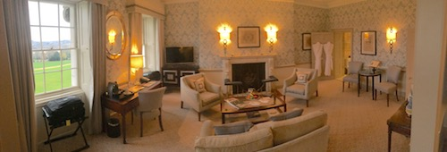 The John Wood Suite (#13) at The Royal Crescent Hotel & Spa, Bath, UK - photo © Love to Eat and Travel