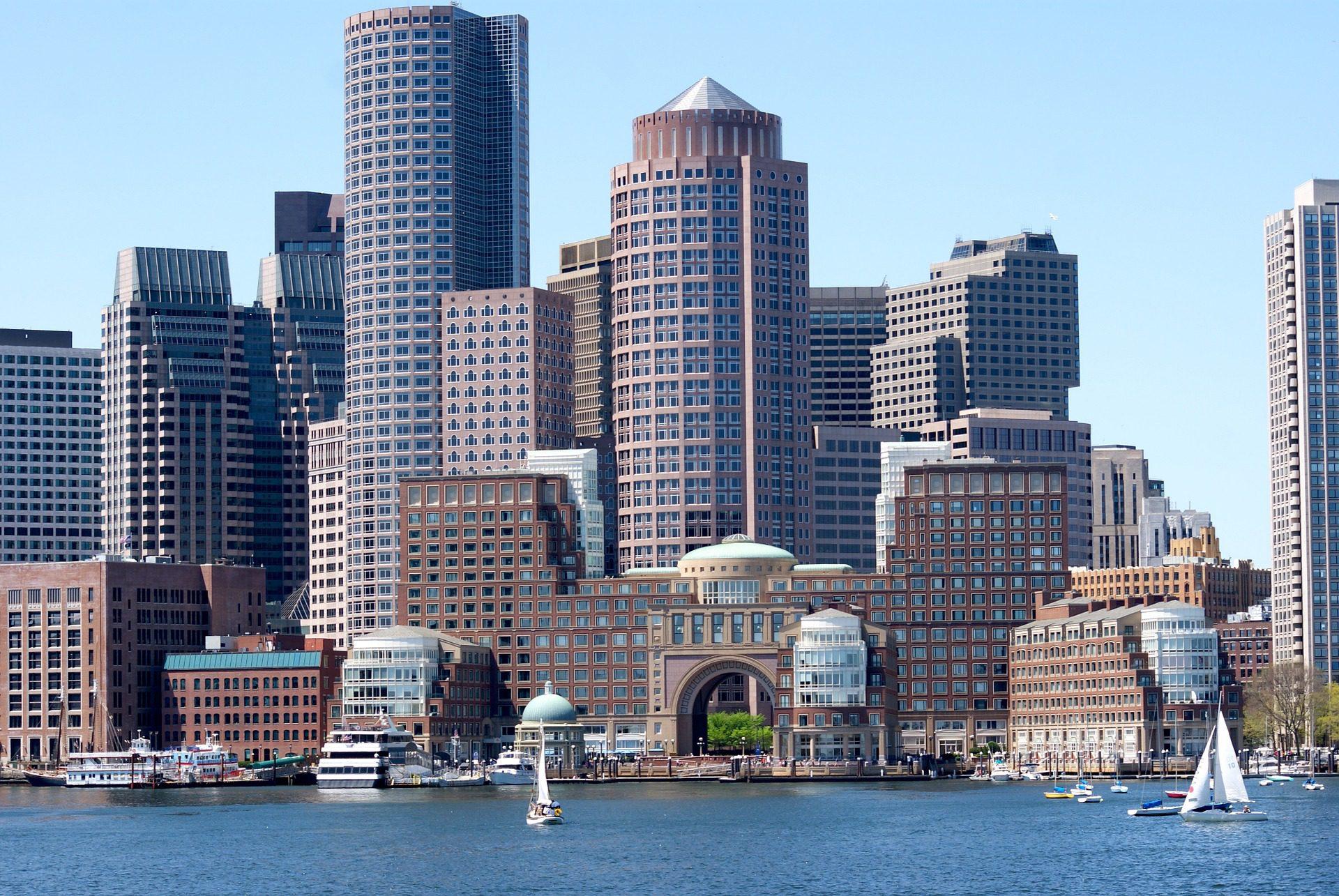 Boston waterfront, MA