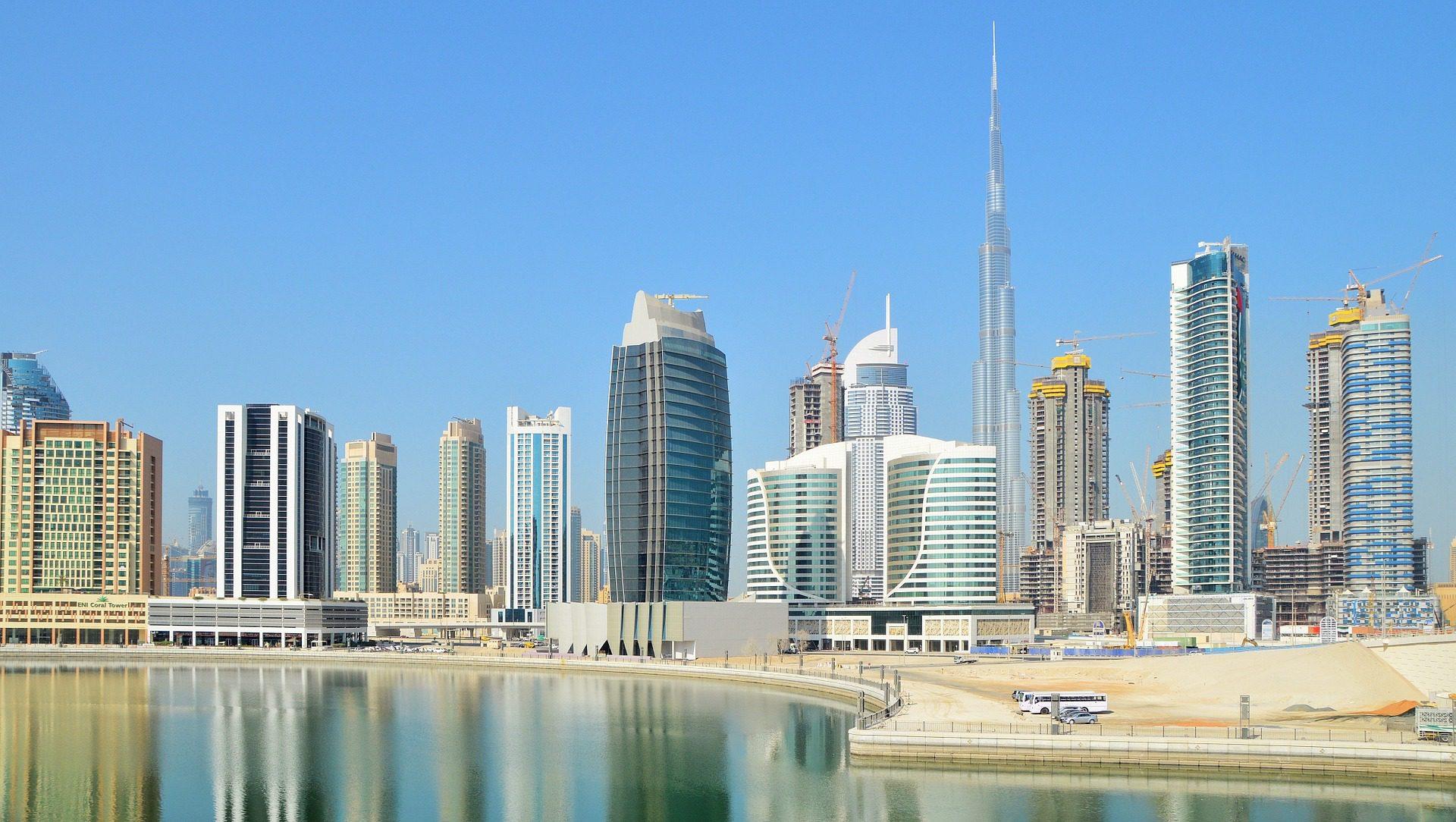 Dubai Skyline, UAE, Middle East