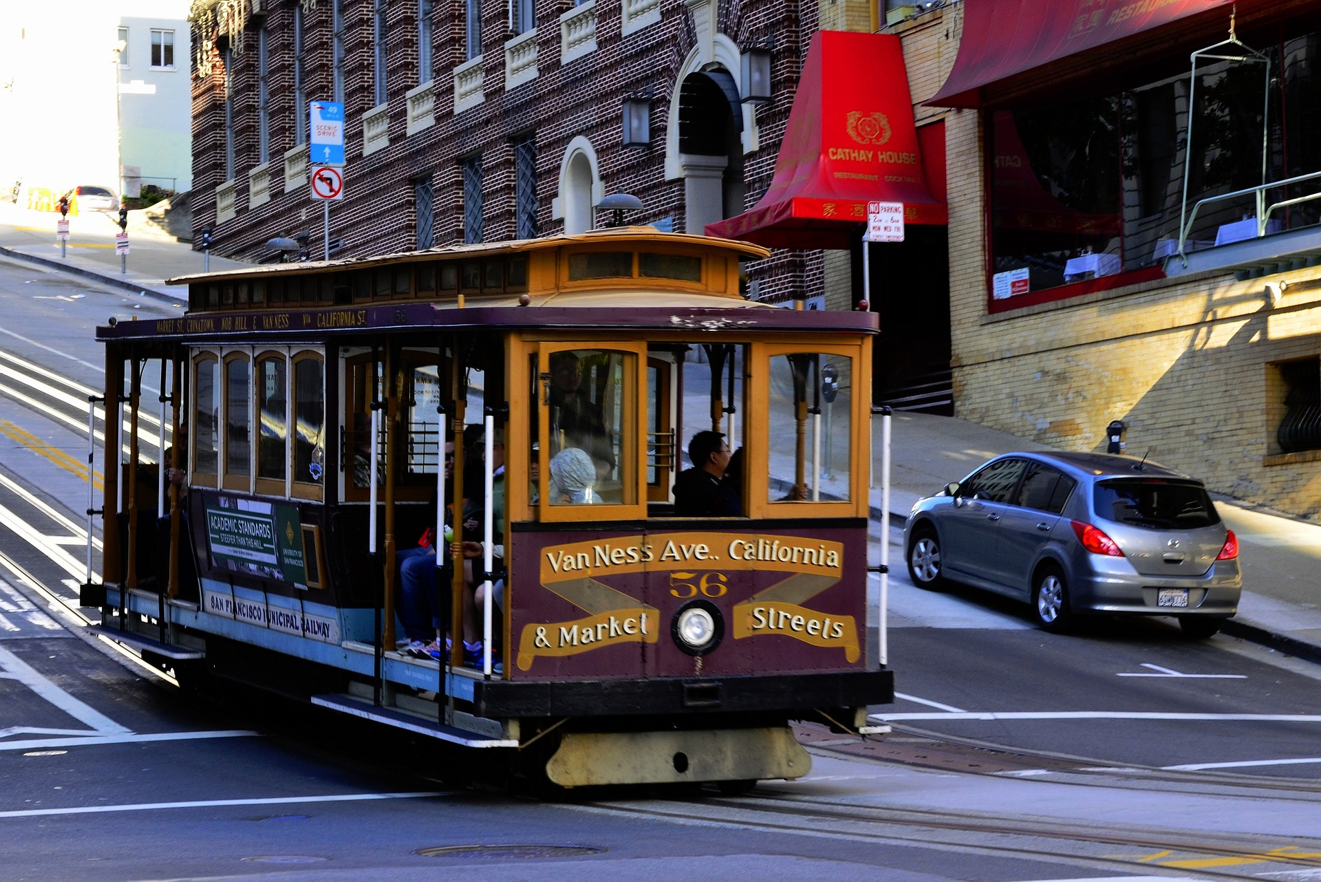 Cable Cars, San Francisco, CA