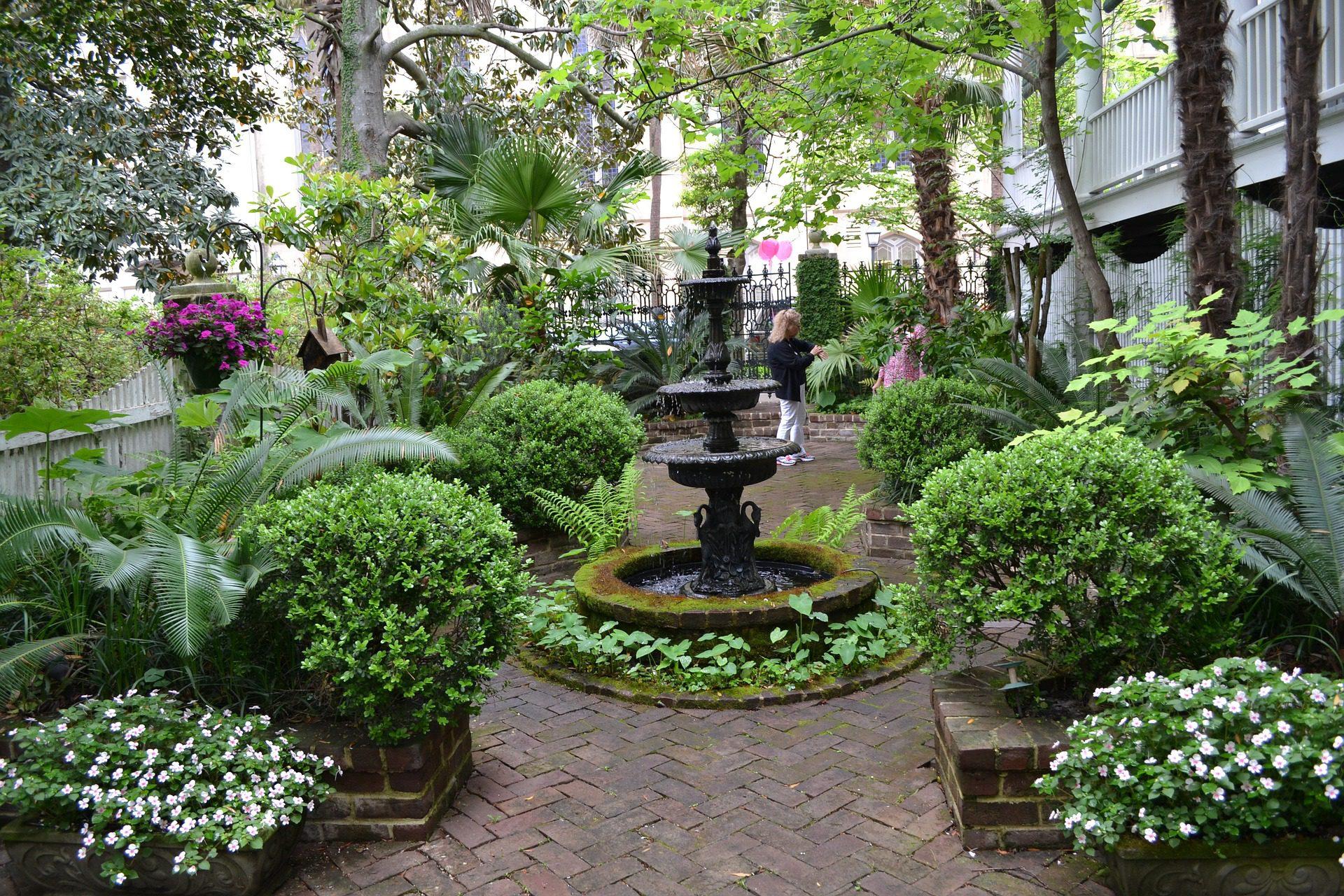 Savannah Garden, Savannah, Georgia