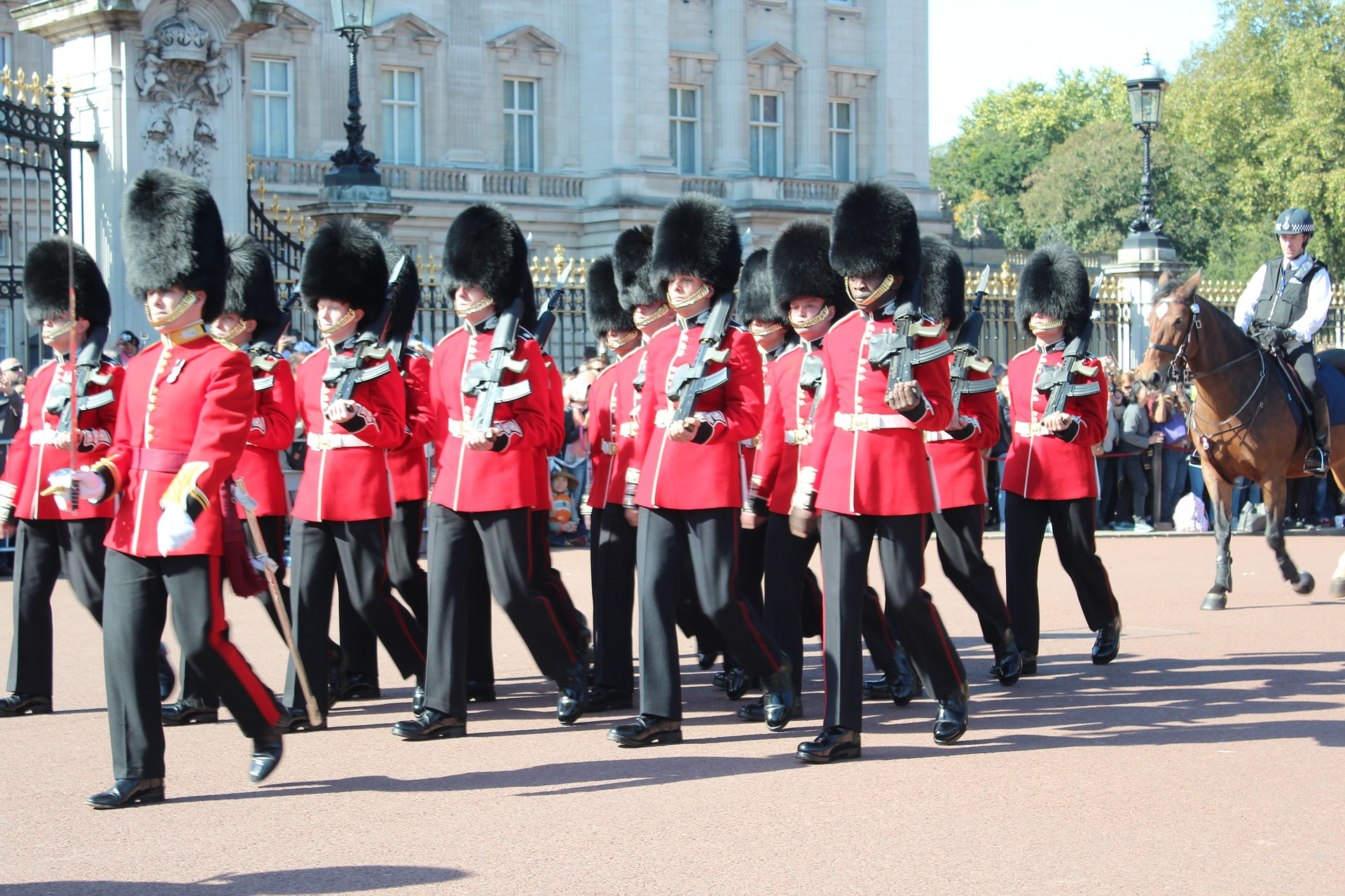Changing of the Guard at Buckingham Palace, London