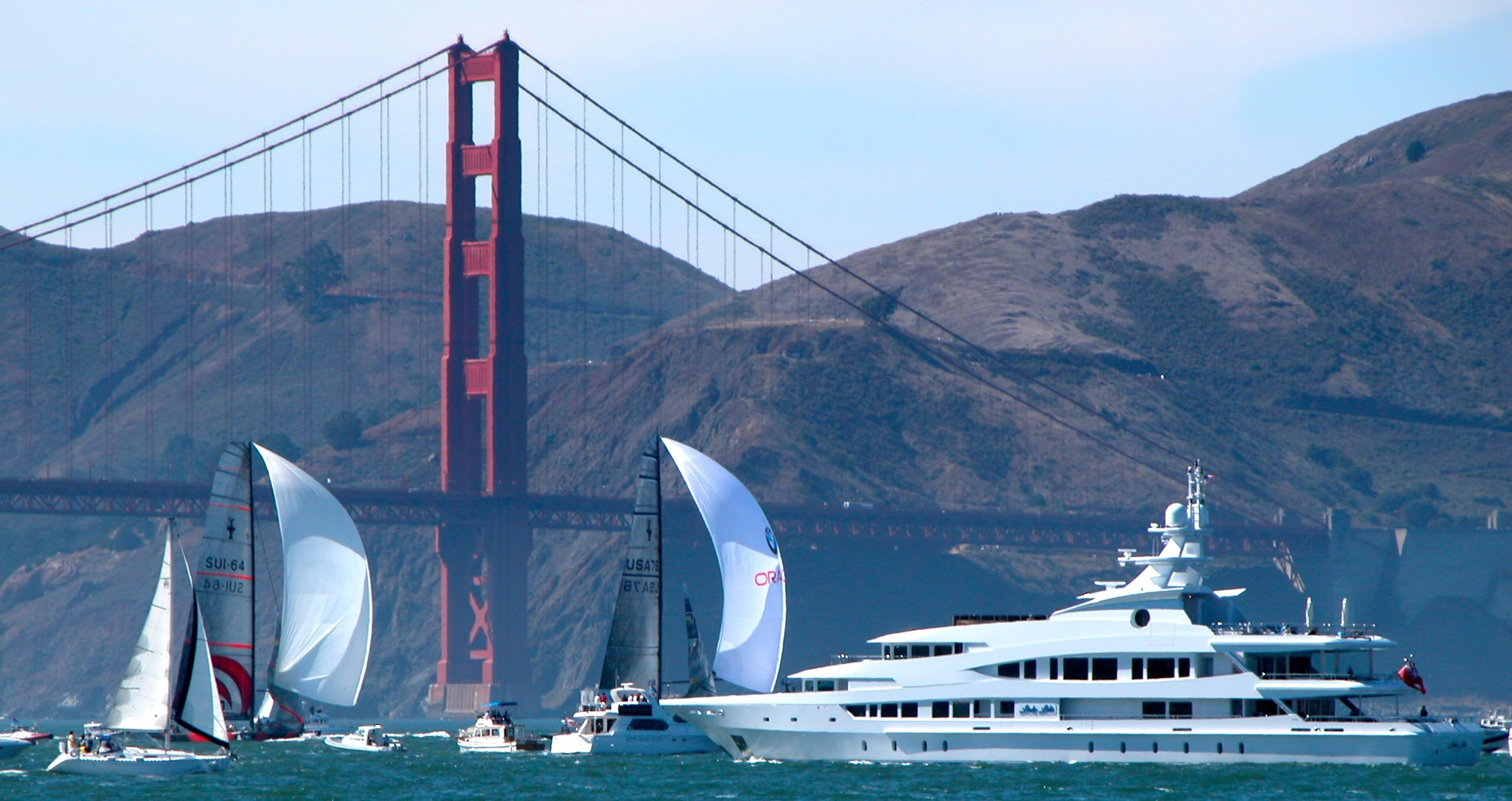 Opening Day on the Bay, SF Bay, San Francisco