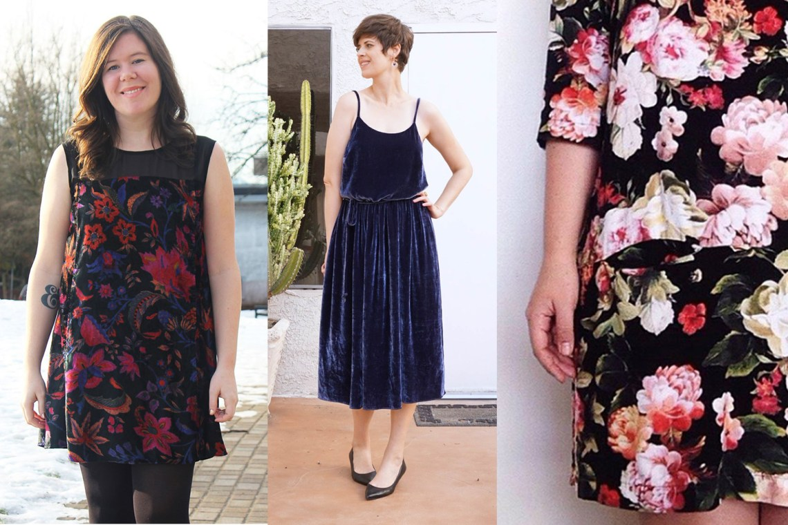 Holiday Sewing Dresses