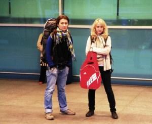 без багажа