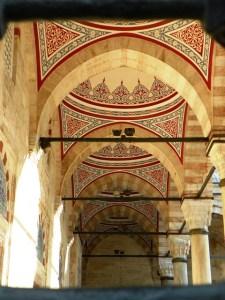 Галерея мечети Сулеймание