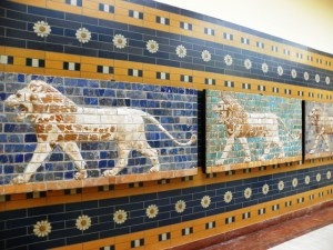 Фрагменты стен Дороги Процессий перед Воротами Иштар