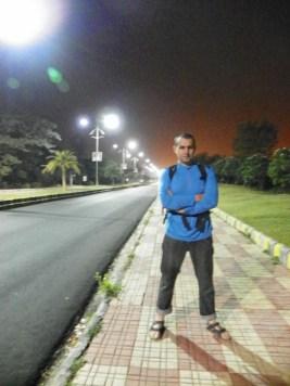 Дорога из аэропорта Нагпура