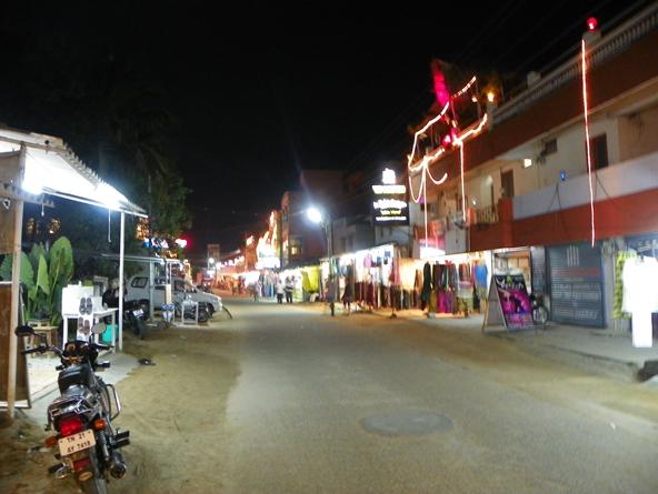 Махабалипурам ночью