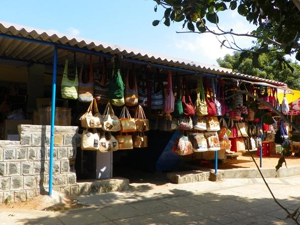 Рынок в Мамаллапураме