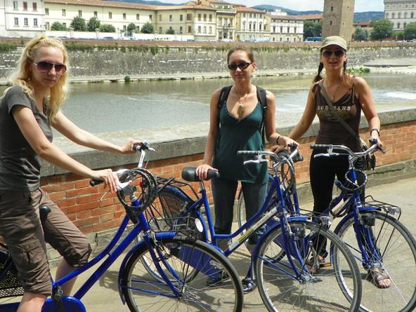 На велосипедах по Флоренции