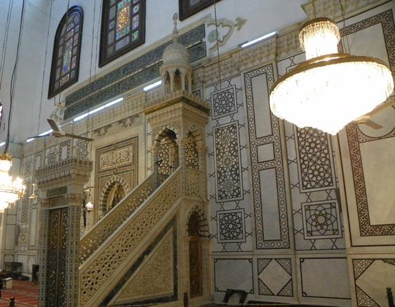 Минбар мечети Омейядов