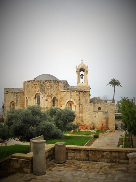 Библос. Церковь Иоанна Крестителя
