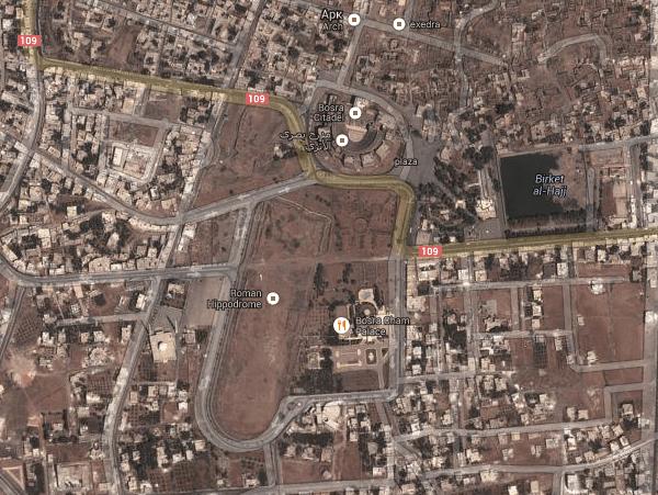 Bosra map