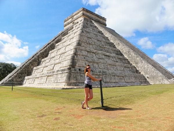 Чичен-Ица. Пирамида Кукулькана