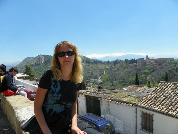 Вид с мирадора S.Nicolas. Гранада