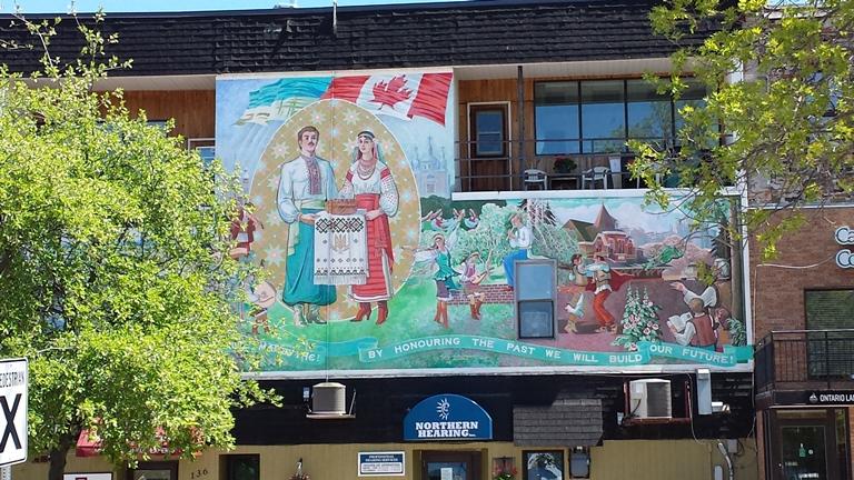 Townscape Murals in Kenora