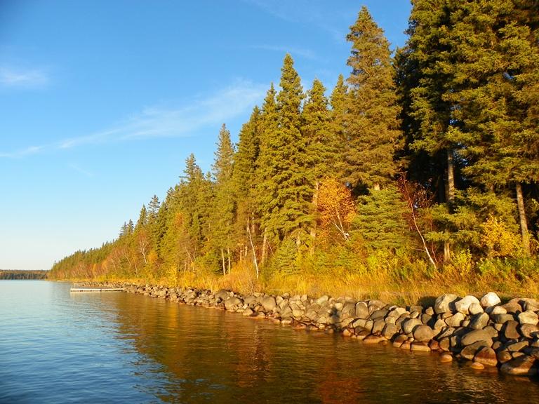 Закат на Clear Lake
