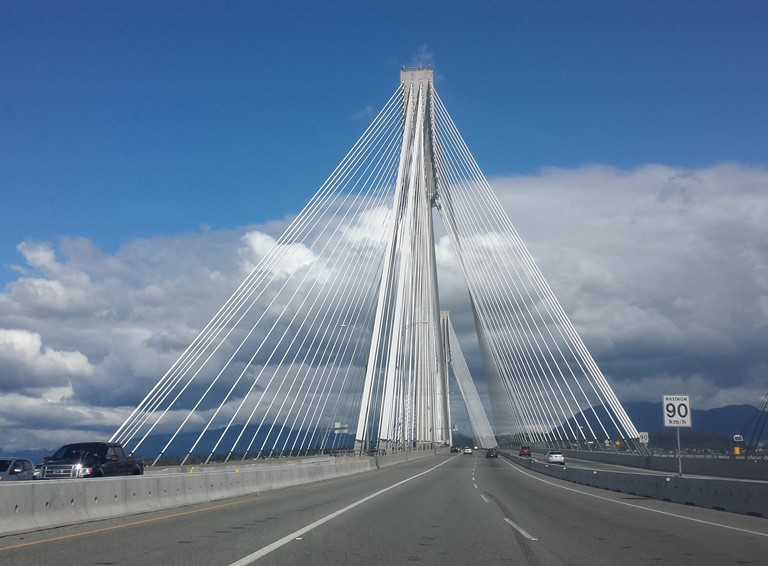 Port Mann Bridge. Greater Vancouver