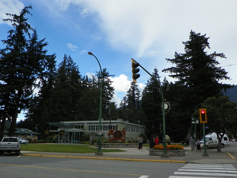 Downtown. Hope. BC