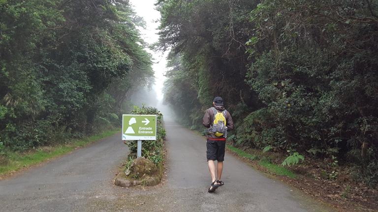 Volcan Poas. Costa Rica