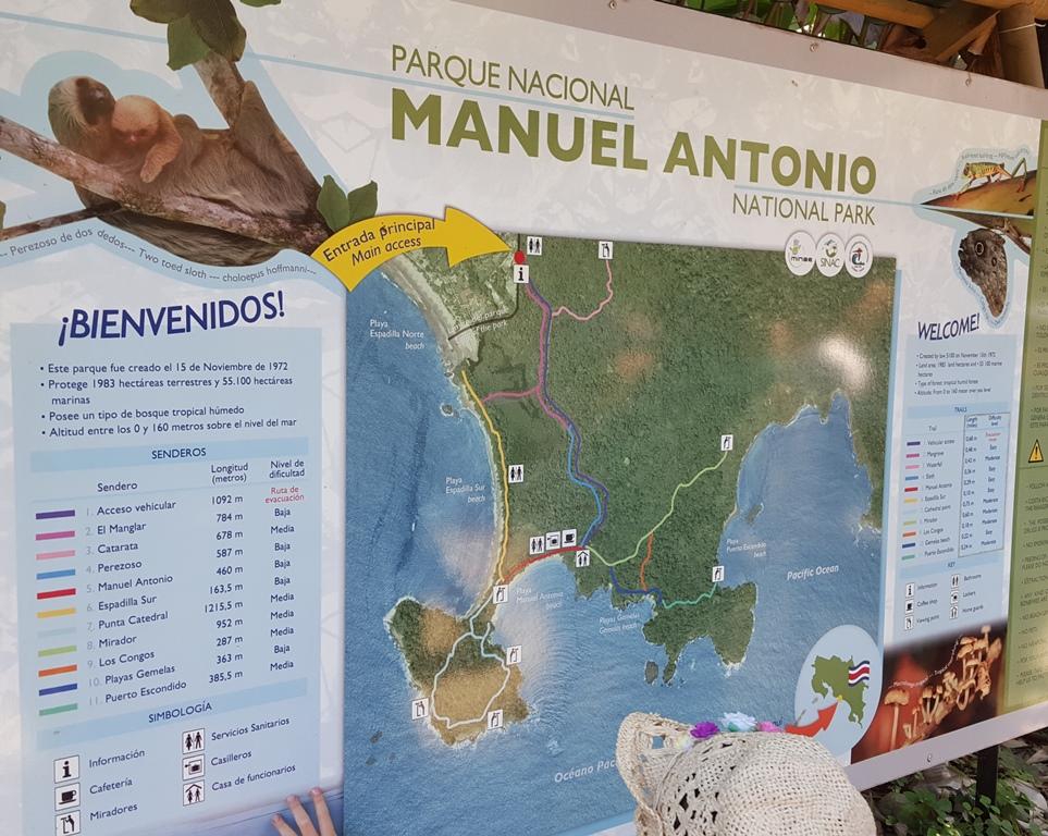 Manuel Antonio-map