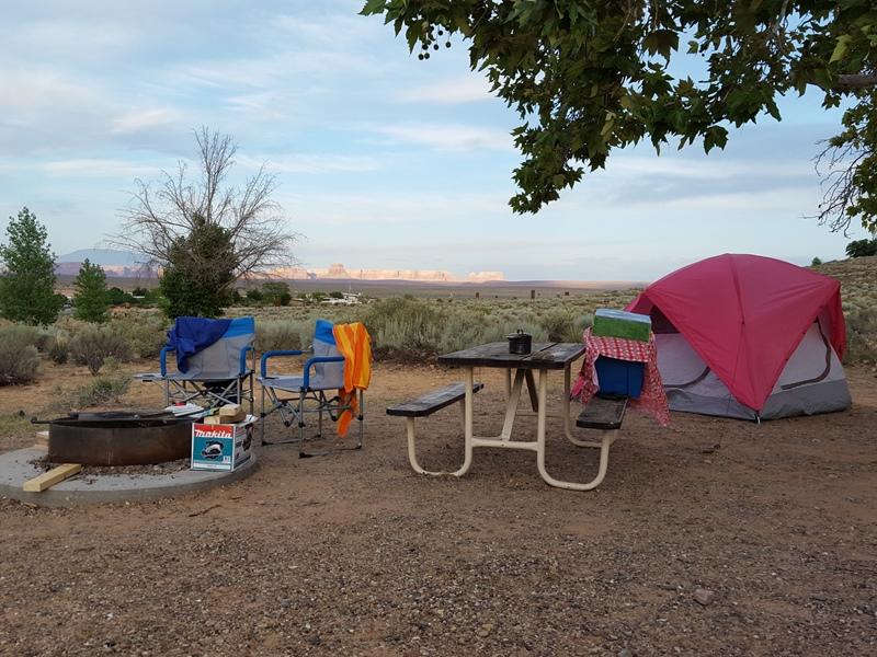 Wahweap RV Park. AZ