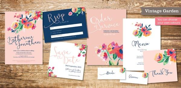 vintage-garden-wedding-invitation-set
