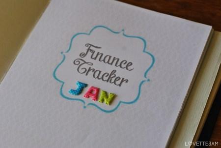 cover page   finance tracker   lovettejam