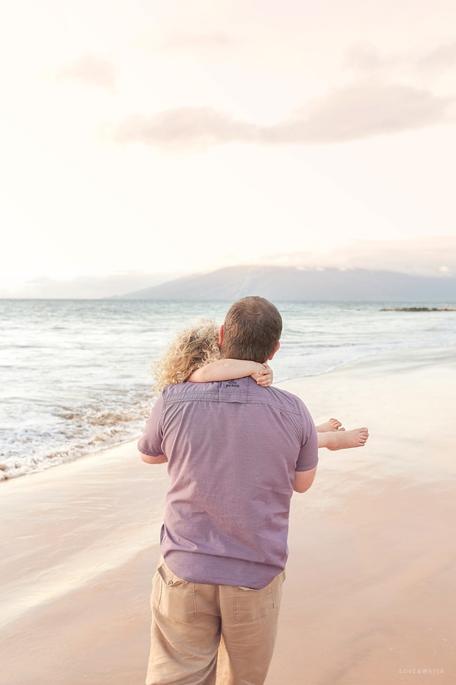 Father and Daughter Maui
