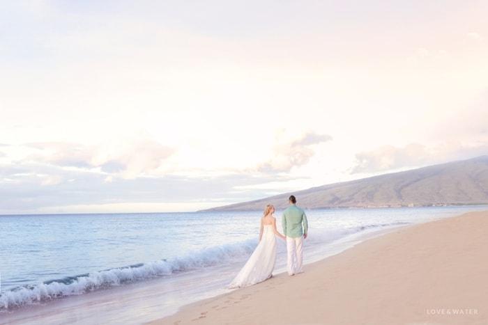 Sunrise trash the dress Maui