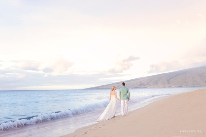 Sunrise trash the dress Maui