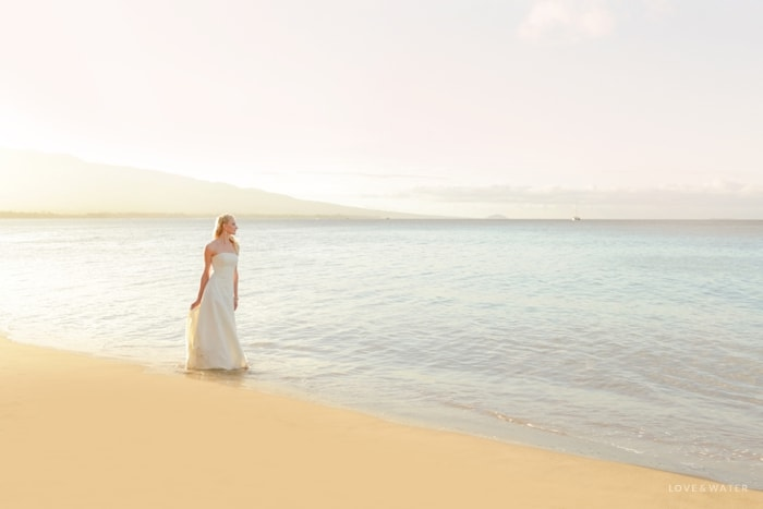 Sunrise Maui trash the dress