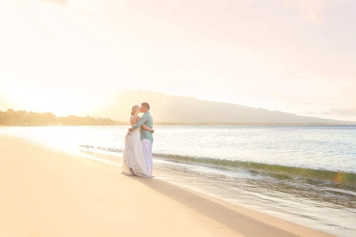 Maui trash the dress photographers