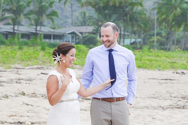 Hanalei Bay Elopement by Kauai Wedding Photographers www.lovewaterphoto.com #BHLDN #Kauai #BeachWedding #KauaiElopement #HanaleiBay