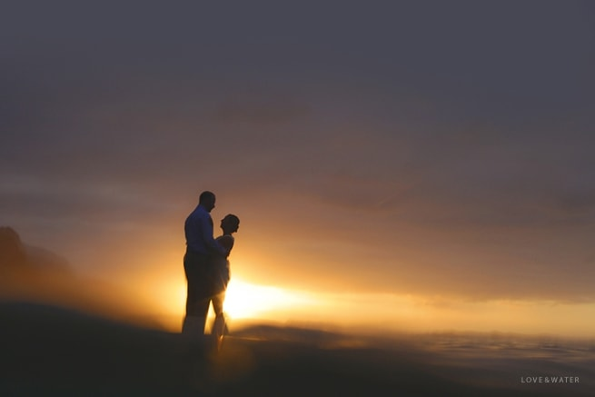 Hanalei Bay Elopement and Ke'e Beach Sunset by Kauai Wedding Photographers www.lovewaterphoto.com #BHLDN #BHLDNBride #Kauai #BeachWedding #KauaiElopement #HanaleiBay #HawaiiWedding