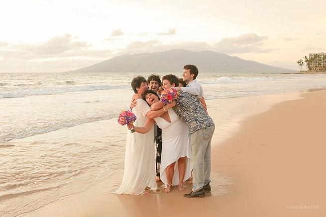 Maui beach wedding photographers www.lovewatephoto.com