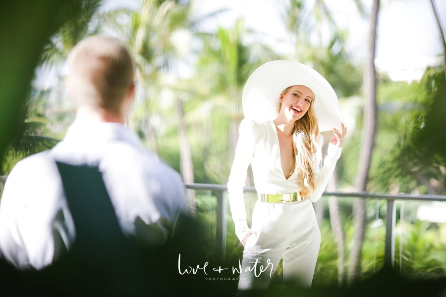 bridewearingawhitejumpsuit