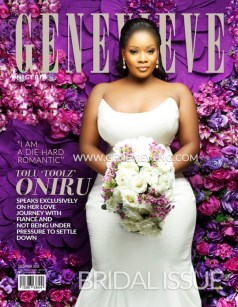 Toolz Tolu Oniru covers Genevieve Magazine December 2015 LoveweddingsNG