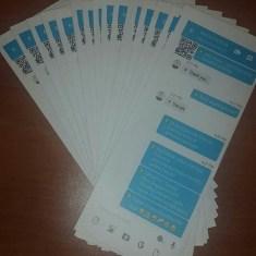 Adaugo and Uche's Nigerian Social Media Themed Wedding Menu Cards IPC Events LoveWeddingsNG