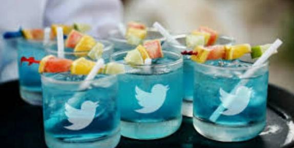 Adaugo and Uche's Nigerian Social Media Themed Wedding Twitter Drinks IPC Events LoveWeddingsNG 1