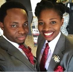 At Nigerian photographer, Demola Adeniran's wedding, there was a female best man